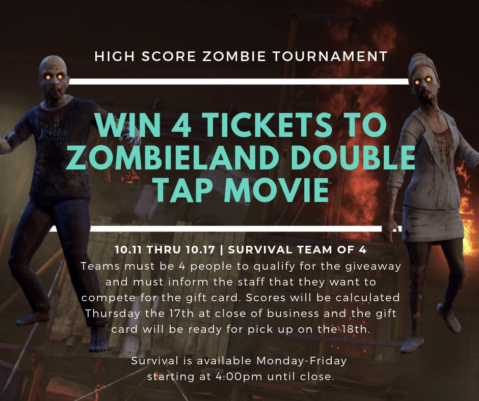 high score zombie tournament